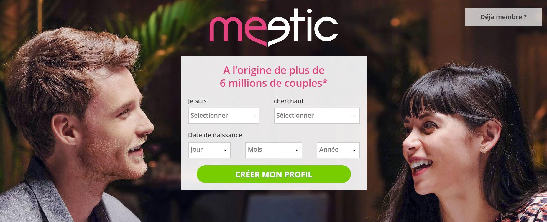 meetic belgique